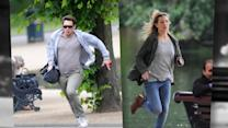 James Franco and Kate Hudson Film 'Good People' in London