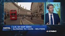 Could UK's Q1 GDP disappoint?