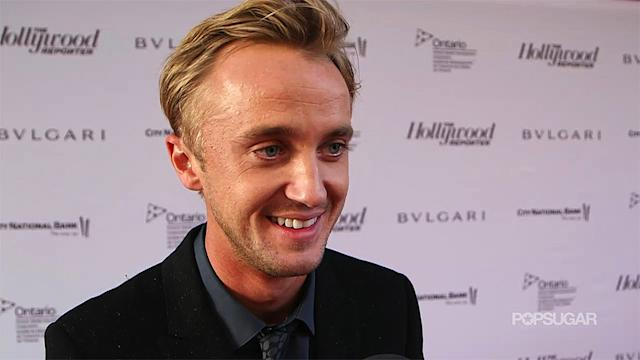Tom Felton on Being at TIFF With Daniel Radcliffe: