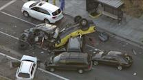 Eight Car Pile-Up Claims At Least One Life
