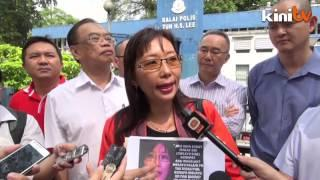Teresa Kok lodges police report over harassment