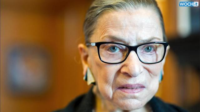 U.S. Justice Ginsburg Hits Back At Liberals Who Want Her To Retire
