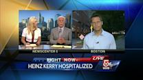 Report: Heinz Kerry had seizure, remains hospitalized