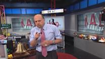 Cramer explains pullback strategy