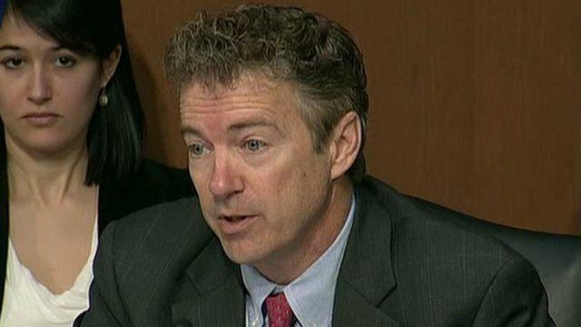 Did Sen. Rand Paul cross the line at Clinton hearing?