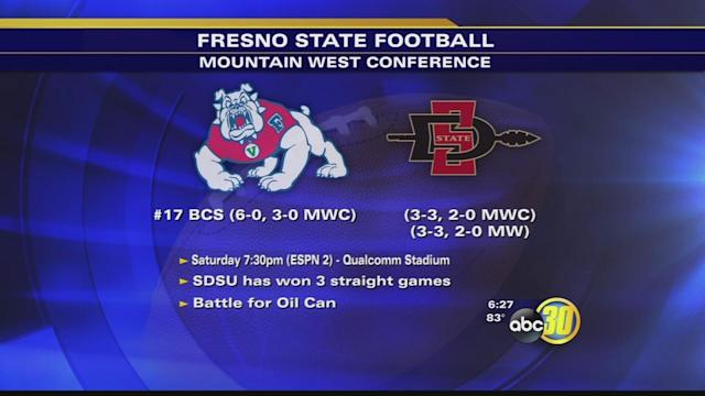 Fresno State Celebrates Win, Gets Back to Work for SDSU