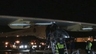 Solar Plane Reaches East Coast