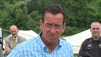 Governor Dannel Malloy Tours Tornado Damage
