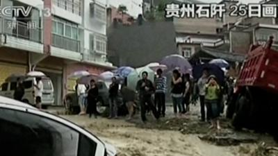Raw: Deadly Flooding in South China
