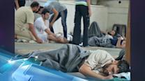 Syria Opposition Claims Hundreds Dead In 'gas' Attacks