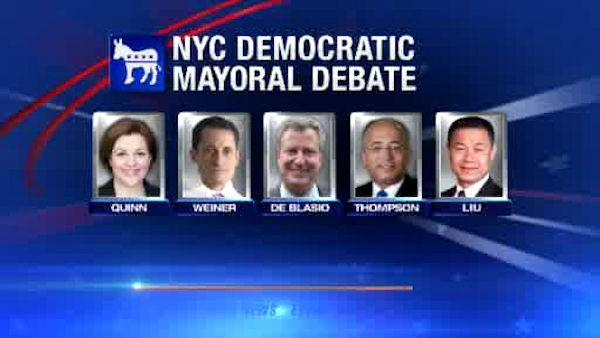 Democratic candidates face off in NYC mayoral debate