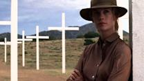 """January Jones is out for revenge in """"Sweetwater"""""""