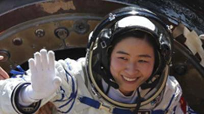China: 1st woman astronaut back from space