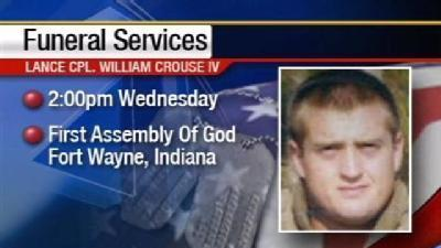 Funeral Scheduled For Clinton Marine