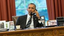 Obama Makes First Phone Call With Iranian President in Decades
