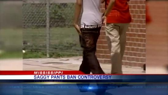 ACLU stepping in on saggy pants controversy