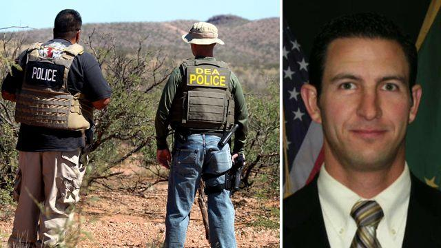 Investigators search for clues in killing of US border agent