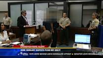 Home burglary suspects plead not guilty