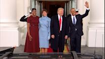 Obamas Welcome Trumps to the White House