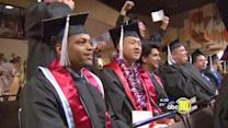 Foster youth overcomes adversity to graduate Fresno State