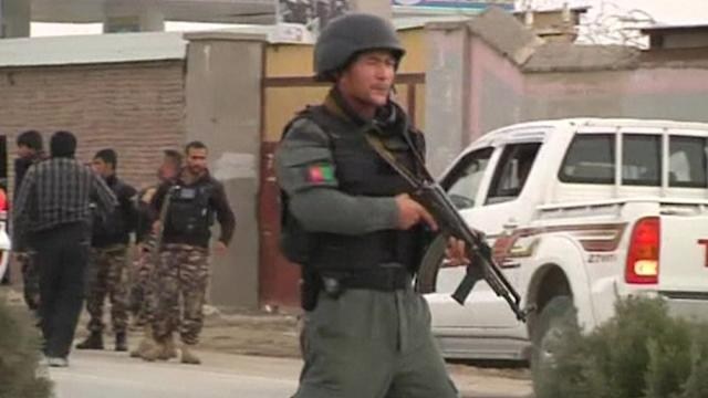 Taliban attack election commission headquarters in Kabul