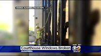Man In Alhambra Faces Felony Vandalism Charge After Destroying Nearly 30 Courthouse Windows