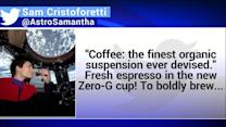 The first espresso in space