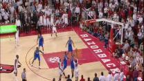 Arkansas Putback Slam for Win over Kentucky
