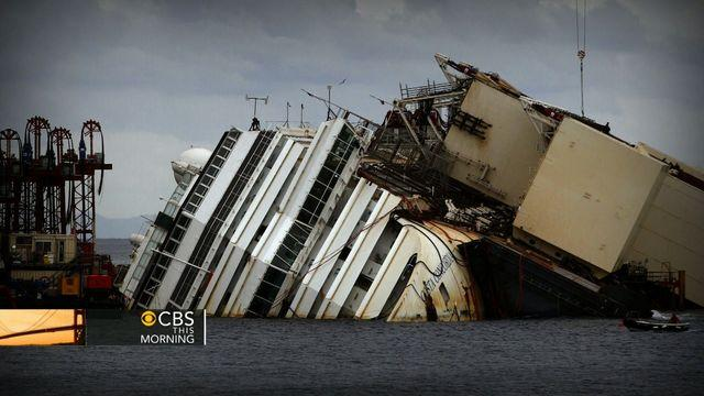 Watch: Costa Concordia salvage operation kicks off