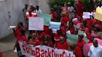 Raw: Hundreds March for Kidnapped Nigerian Girls