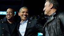 Obama brings some star power to the stage