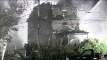 3 families displaced in fast moving fire in Willow Grove