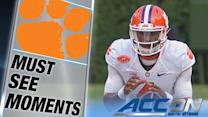 Clemson's Deshaun Watson Throws 1st Career TD Pass   ACC Must See Moment
