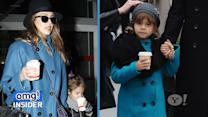 Jessica Alba's Fashionable 'Girls' Trip with Daughter Honor