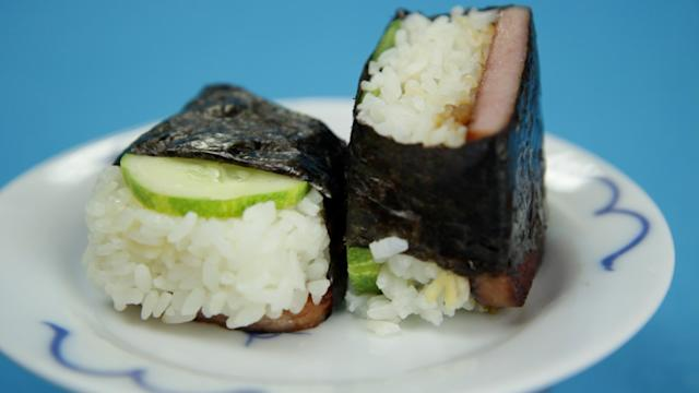 Spam Musubi - Hilah Cooking