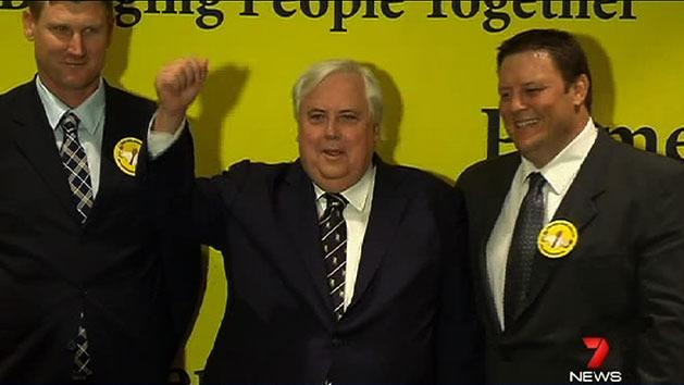 Lazarus joins Clive Palmer party