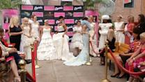 Flushing brides at annual toilet paper wedding dress contest
