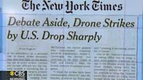 Headlines: Number of U.S. drone strikes drops