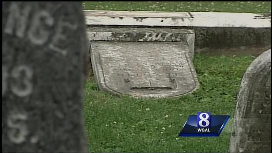 Donations pour in from around country for vandalized cemetery