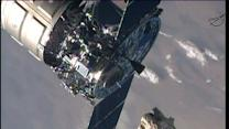 Raw: Cargo Craft Undocks From Space Station