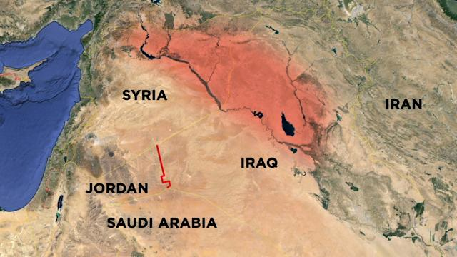 ISIS CARVES OUT MORE TERRITORY