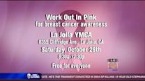 Work out in pink for breast cancer awareness