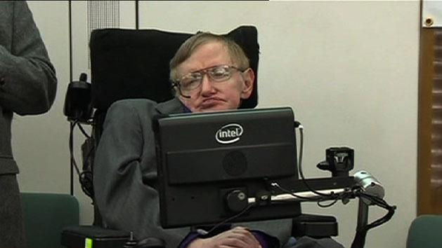 Hawking hopes for space travel