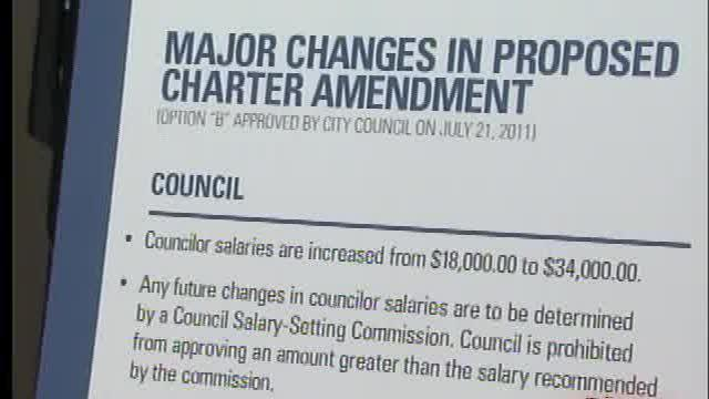 Chamber to address city charter changes