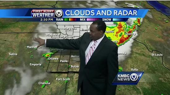 Storms could form late Sunday, Monday looks steamy