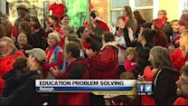 McCrory holds meeting to try and resolve education problems