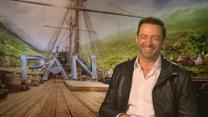 Hugh Jackman sings Neighbours theme during Pan interview
