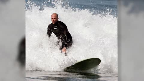Surf's Up for Jason Statham in Malibu