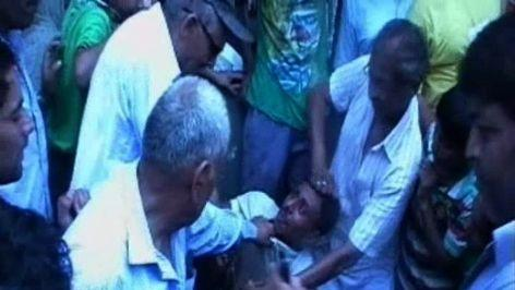 Mob thrashes hospital staff, over infant's death