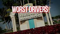Miami has the worst drivers in the country